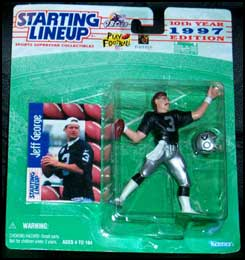 1997 Football Jeff George Starting Lineup Picture
