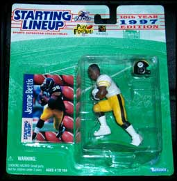 1997 Football Jerome Bettis Starting Lineup Picture