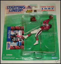 1997 Football Jerry Rice Starting Lineup Picture