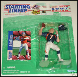 1997 Football John Elway Starting Lineup Picture