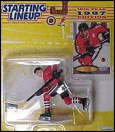 1997 Hockey Chris Chelios Starting Lineup Picture