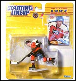 1997 Hockey Eric Lindros Starting Lineup Picture