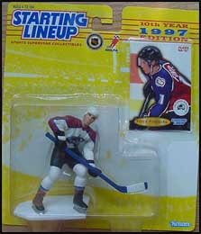 1997 Hockey Peter Forsberg Starting Lineup Picture