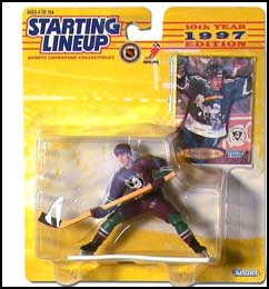 1997 Hockey Teemu Selanne Starting Lineup Picture