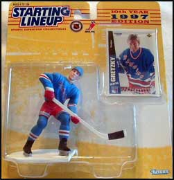 1997 Hockey Wayne Gretzky Starting Lineup Picture