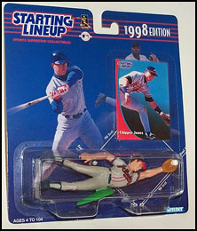 1998 Baseball Chipper Jones Starting Lineup Picture