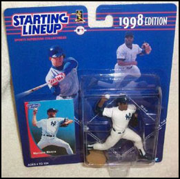 1998 Baseball Mariano Rivera Starting Lineup Picture