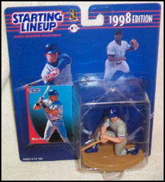 1998 Baseball Mike Piazza Starting Lineup Picture