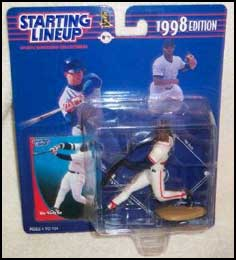 1998 Baseball Mo Vaughn Starting Lineup Picture