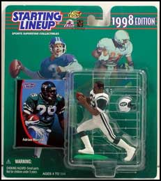 1998 Football Adrian Murrell Starting Lineup Picture