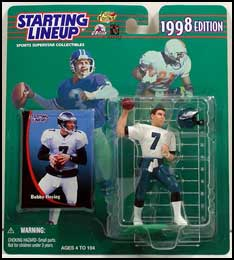 1998 Football Bobby Hoying Starting Lineup Picture