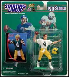 1998 Football Brett Favre Starting Lineup Picture