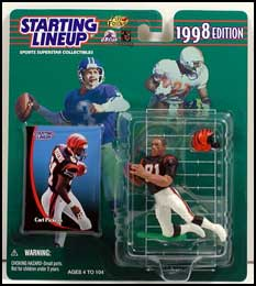 1998 Football Carl Pickens Starting Lineup Picture