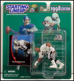 1998 Football Chester McGlockton Starting Lineup Picture
