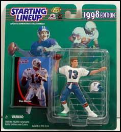 1998 Football Dan Marino Starting Lineup Picture