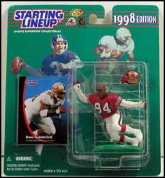 1998 Football Dana Stubblefield Starting Lineup Picture