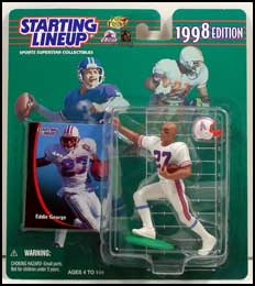 1998 Football Eddie George Starting Lineup Picture