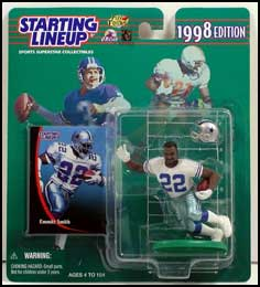 1998 Football Emmitt Smith Starting Lineup Picture