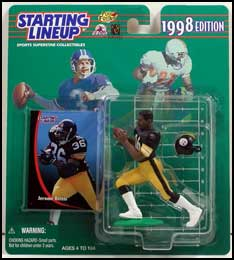 1998 Football Jerome Bettis Starting Lineup Picture