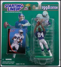 1998 Football Joey Galloway Starting Lineup Picture