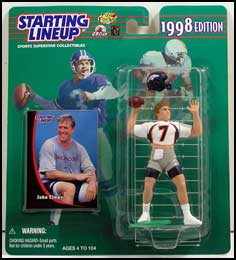 1998 Football John Elway Starting Lineup Picture