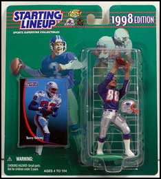 1998 Football Terry Glenn Starting Lineup Picture