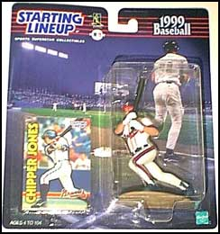 Chipper Jones 1999 Baseball SLU Figure