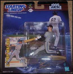 1999 Baseball Larry Walker Starting Lineup Picture