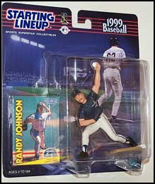 1999 Baseball Randy Johnson Starting Lineup Picture