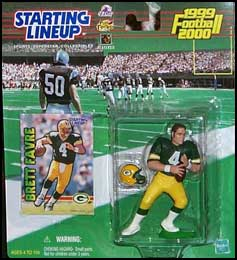 1999 Football Brett Favre Starting Lineup Picture