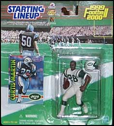1999 Football Curtis Martin Starting Lineup Picture