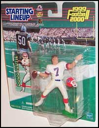 1999 Football Doug Flutie Starting Lineup Picture