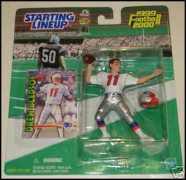 1999 Football Drew Bledsoe Starting Lineup Picture