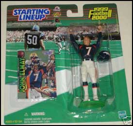 1999 Football John Elway Starting Lineup Picture