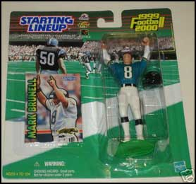 1999 Football Mark Brunell Starting Lineup Picture
