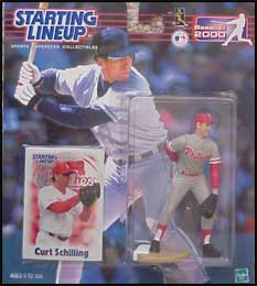 2000 Baseball Curt Schilling Starting Lineup Picture