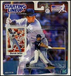 2000 Baseball Derek Jeter Starting Lineup Picture