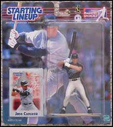 2000 Baseball Jose Canseco Starting Lineup Picture