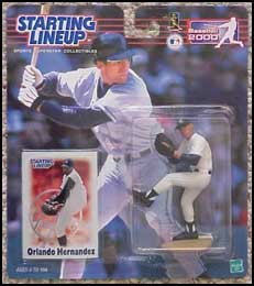 2000 Baseball Orlando Hernandez Starting Lineup Picture
