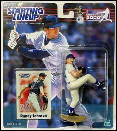 2000 Baseball Randy Johnson Starting Lineup Picture