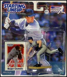 2000 Baseball Roger Clemens Starting Lineup Picture