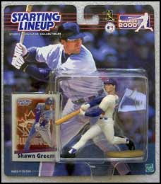 2000 Baseball Shawn Green Starting Lineup Picture