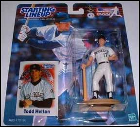 2000 Baseball Todd Helton Starting Lineup Picture