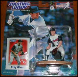2000 Baseball Troy Glaus Starting Lineup Picture