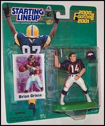 2000 Football Brian Griese Starting Lineup Picture