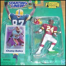 2000 Football Champ Bailey Starting Lineup Picture