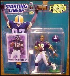 2000 Football Daunte Culpepper Starting Lineup Picture