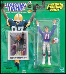 2000 Football Drew Bledsoe Starting Lineup Picture