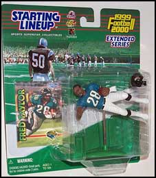 2000 Football Fred Taylor Starting Lineup Picture