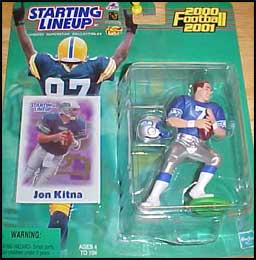 Jon Kitna 2000 Football SLU Figure